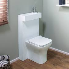 small toilet sink combo drench all in one compact toilet basin shroud with concealed toilet