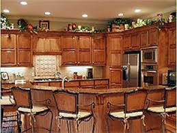 beautiful kitchen lighting with smart lights and brown floor