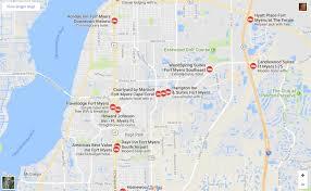 Cape Coral Fl Map Sw Florida Maps Of Interest