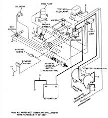 gas club car golf cart wiring diagram gas wiring diagrams collection