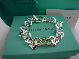 link bracelet with heart images Tiffany jewellery sale tiffany heart link bracelet jewels jpg