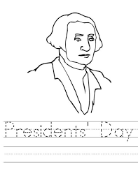 washington presidents day coloring pages holidays coloring pages