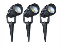 Garden Lights Led Garden Lights 3 X 6w Led Spike Kit Future Light Led Lights
