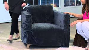 Sure Fit Slipcovers For Sofas by Sure Fit Stretch Plush Sofa Furniture Cover With Gabrielle Kerr