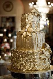 wedding cake gold gold wedding cakes the magazine