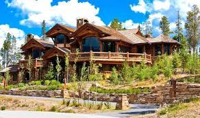 mansion home designs luxury home designs ski resort log home mansion among trees luxury