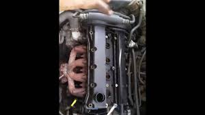changing valve cover gasket in a 05 chevy aveo ls youtube