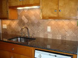 Faux Stone Kitchen Backsplash Backsplash Designs Travertine Travertine Tile Backsplash Ideas