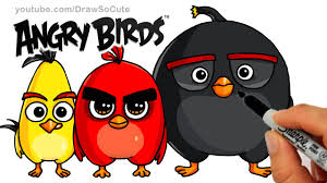 awesome collection of angry birds draw youtube for free shishita