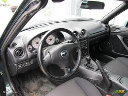 mazda roadster interior black interior 2002 mazda mx 5 miata roadster photo 49434808