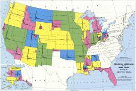 United States Map With State Names And Abbreviations by Public Land Survey System Wikipedia
