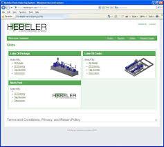 Home Quote Explorer by Hebeler Parts Hebeler Corporation Engineer Design Fabricate