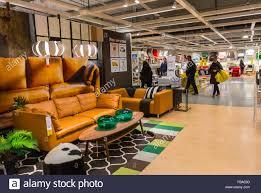 paris france shopping in modern diy housewares store ikea stock