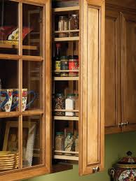 spice rack cabinet insert pull out spice rack micka cabinets