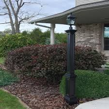 l signature l post black ls yard mayne modern lighting