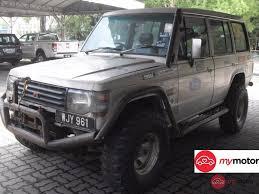mitsubishi trucks 1990 1990 mitsubishi pajero for sale in malaysia for rm26 800 mymotor