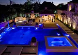 modern style outdoor ground lights and rgb color changing in