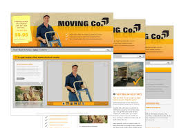 movers moving company web template pack from serif com