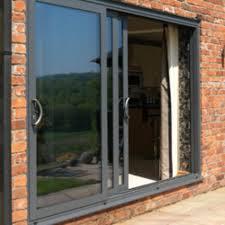 aluminium glass doors mastercraft ltd u2013 aluminium dual or triple track sliding doors