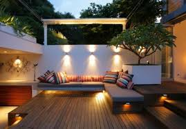 Outdoor Patio Wall Lights Photo Of Patio Wall Lighting Ideas 20 Outdoor Led Lighting Ideas