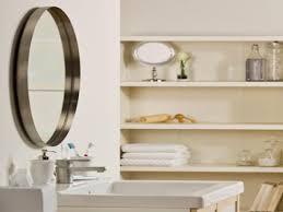 Round Bathroom Mirror With Shelf by Mirror Shelves Bathroom Round Bathroom Mirror With Shelf