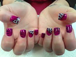 bright pink cat nail art designs by top nails clarksville tn