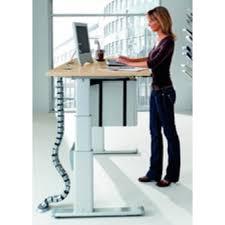bureau à hauteur variable table reglable hauteur electrique