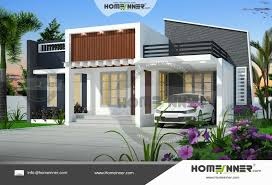 Stylish 1000 Sq Ft Home Design Square Feet House Kerala Floor