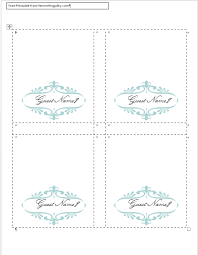 28 place setting cards template templates for customizable