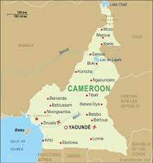 map of cameroon cameroon map cameroon maps and travel guides