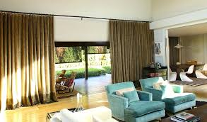 Contemporary Window Curtains Window Treatments Sliding Glass Doors Living Room Contemporary