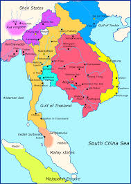 asia political map southeast asia political map with south and east simple ambear me