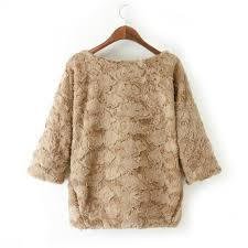 fur sweater faux fur sweater