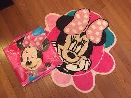 Minnie Mouse Bathroom Rug Minnie Mouse Bath Rug Shower Curtain Toys In Gray Ga