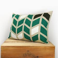 Emerald Green Home Decor by Decorating Beautiful Outdoor Lumbar Pillows For Patio Accessories