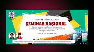 cara membuat desain x banner di photoshop tutorial design backdrop with photoshop cc seminar workshop youtube