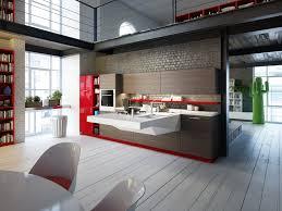 interior kitchen ideas ornate brown hardwood polished modern kitchen cabinets on gray