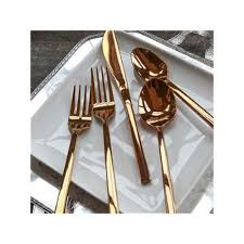 flatware rental gold dinner knife mtb event rentals