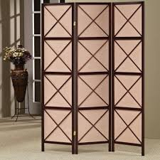 Metal Room Divider Furniture Amusing Living Room Decoration Using 3 Panel Door Metal