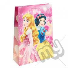 sleeping beauty u0026 snow white gift bag extra large 1pc