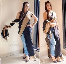Drape A Sari 5 Unusual And Different Ways To Wear A Saree Deck And Dine