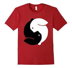 aliexpress yang yin yang rabbit animal bunny lover gift t shirt female perfect