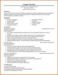 Sample Resume Warehouse Manager by Sample Resume Warehouse Supervisor Resume For Your Job Application