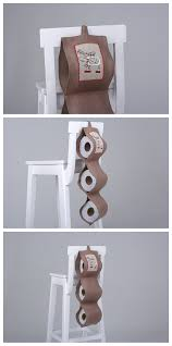 toilet paper roll holder christmas decoration pure linen paper