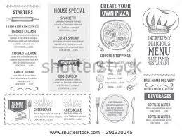 cafe menu templates free download coffee shop take out brochure
