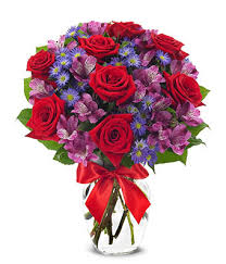 Flowers For Valentines Day Love Is In The Air With Red Roses At From You Flowers
