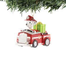 paw patrol kurt adler ornaments gift boxed