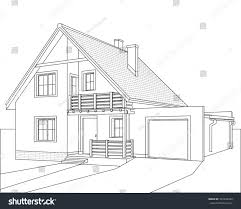 house outline image gallery house outline drawing