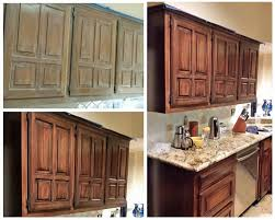 staining kitchen cabinets with gel stain java gel stain kitchen transformation stained kitchen