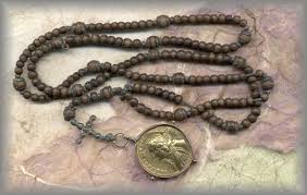 15 decade rosary 15 decade rosary of wooden dated 1720 called a psalter